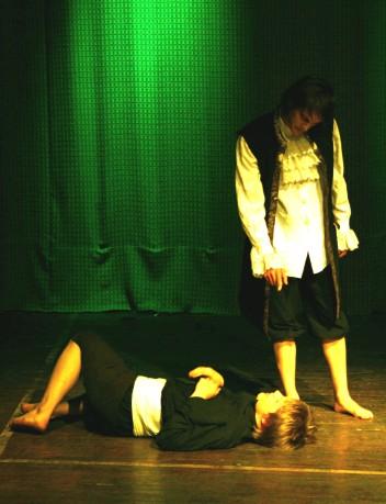"""""""Erak ja Kuuevarbane"""", Noorte Teatritehas 2009 / """"Hermit and Sixfinger"""", Youth Theatre Factory 2009"""